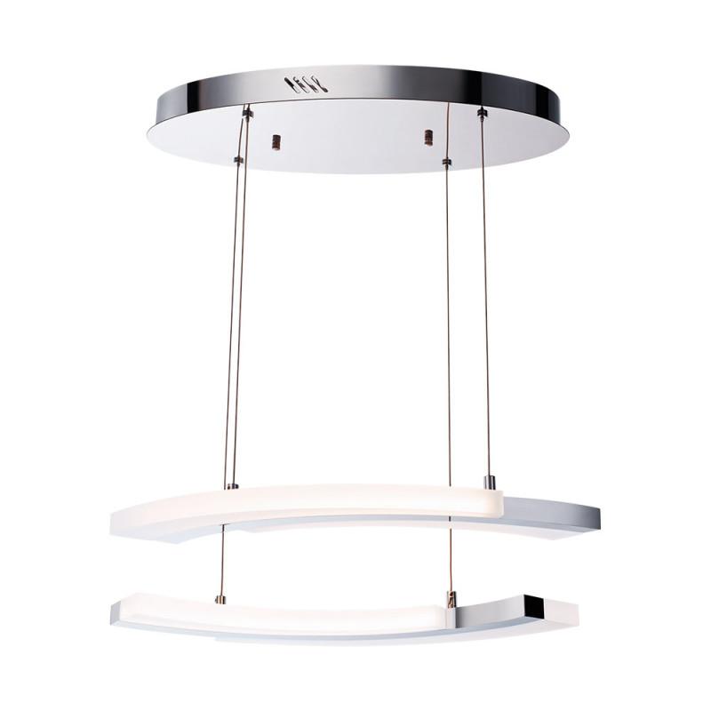 цена на Benetti Светодиодный светильник BENETTI LED Geometria хром, 40Вт 3000K, 2640 Lm, коллекция LED-010