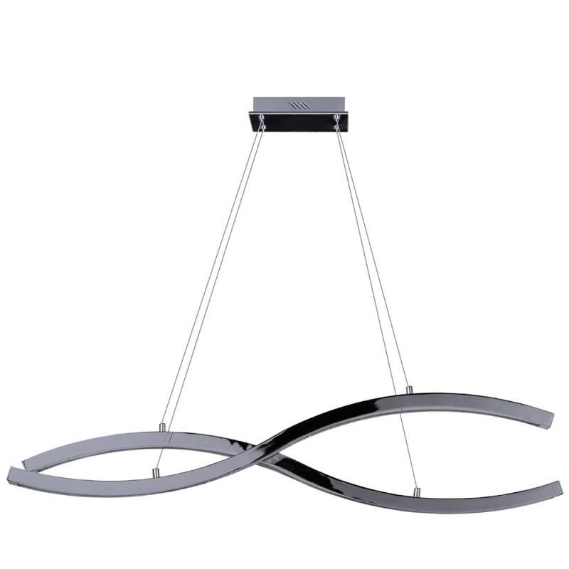 цена на Benetti Светодиодная люстра BENETTI LED Geometria хром, 60Вт 3000K, 3400 Lm, коллекция LED-025
