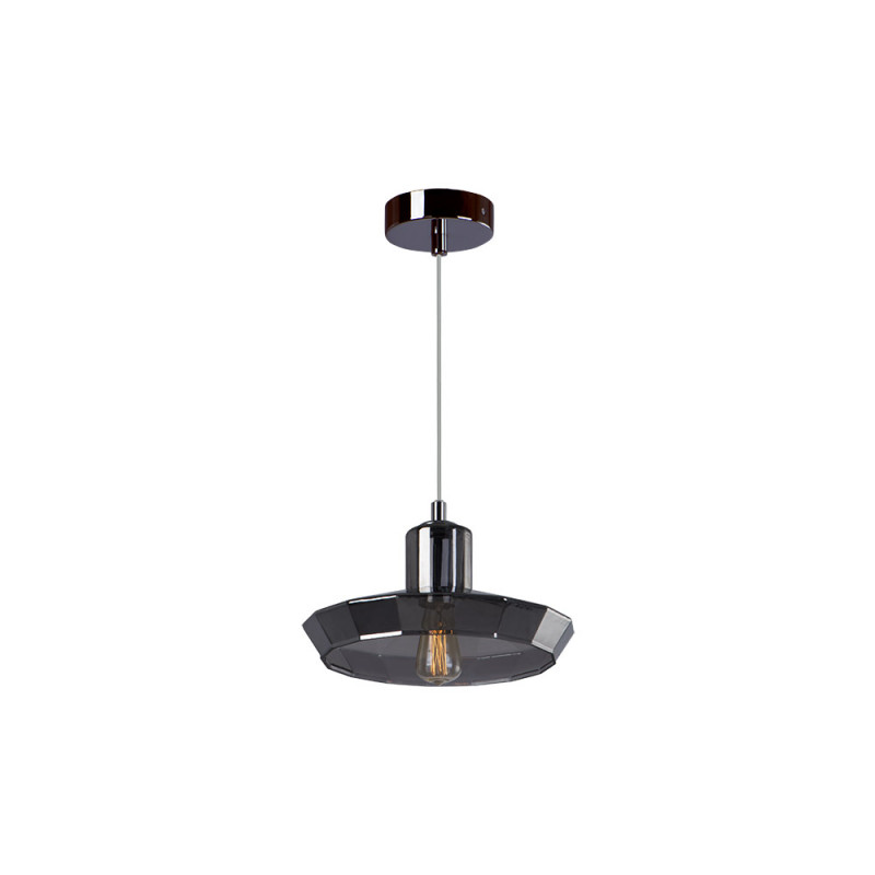 Benetti Cветильник BENETTI Modern Fusione подвесной серый/дымчатый, 1xE27, коллекция MOD-025 подвесной светильник benetti mod 023 9600 01 p