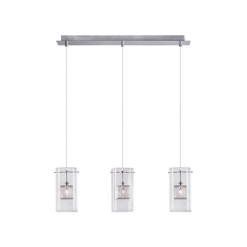 Benetti Светильник BENETTI Modern Kubo подвесной хром, 3хG9, коллекция MOD-040 подвесной светильник benetti mod 023 9600 01 p