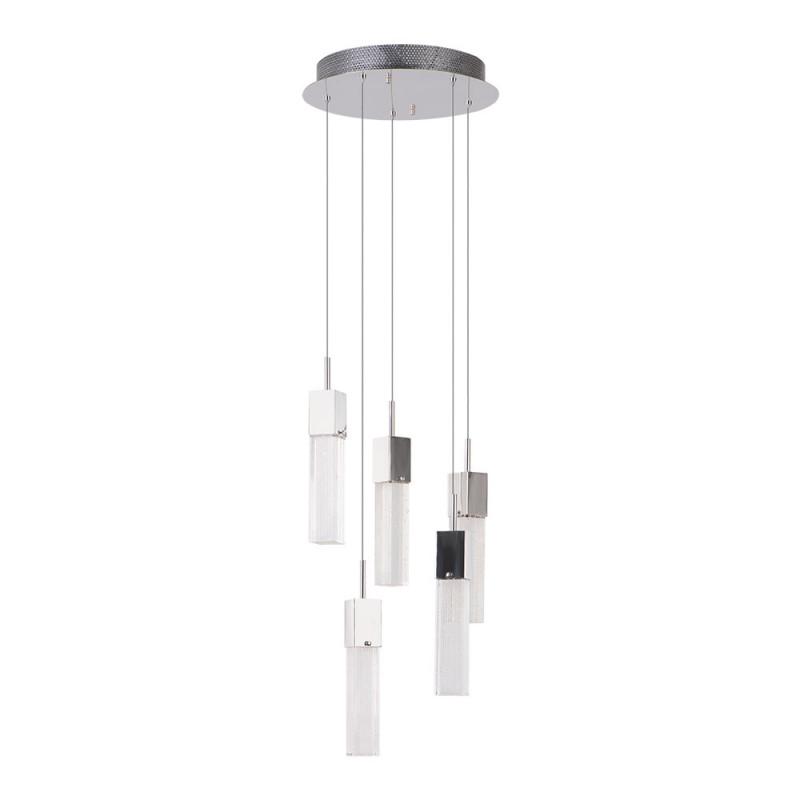 Benetti Светильник BENETTI Modern Raggio подвесной хром, 5хMR11, коллекция MOD-045 подвесной светильник benetti mod 023 9600 01 p