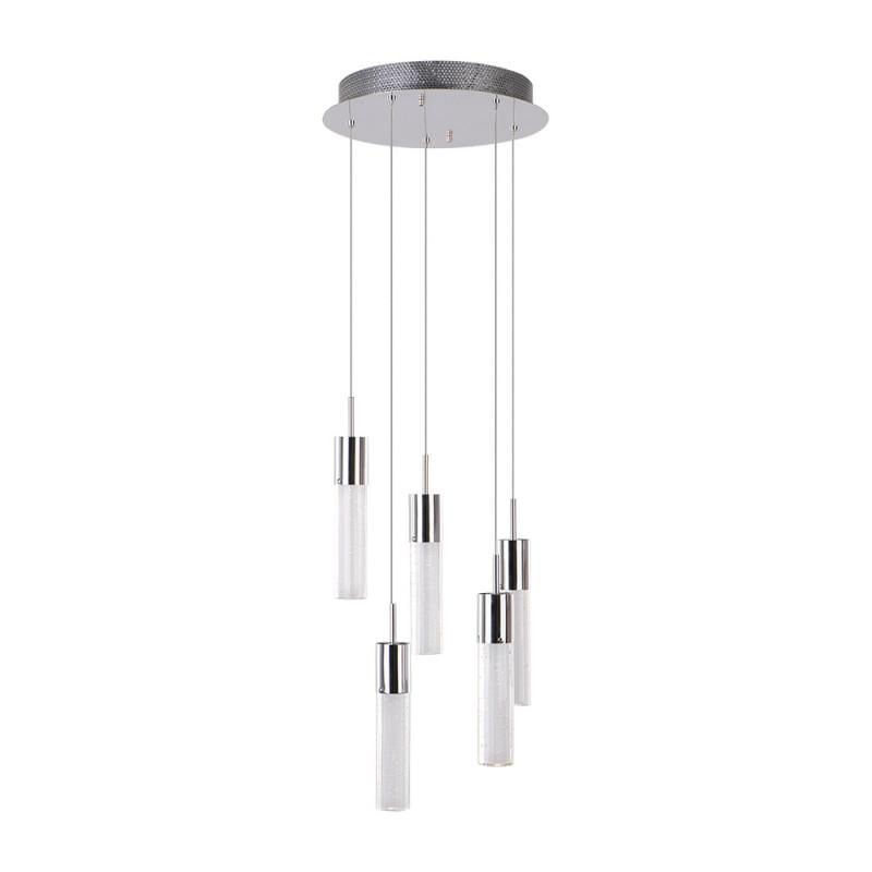 Benetti Светильник BENETTI Modern Raggio подвесной хром, 5хMR11, коллекция MOD-046 подвесной светильник benetti mod 023 9600 01 p