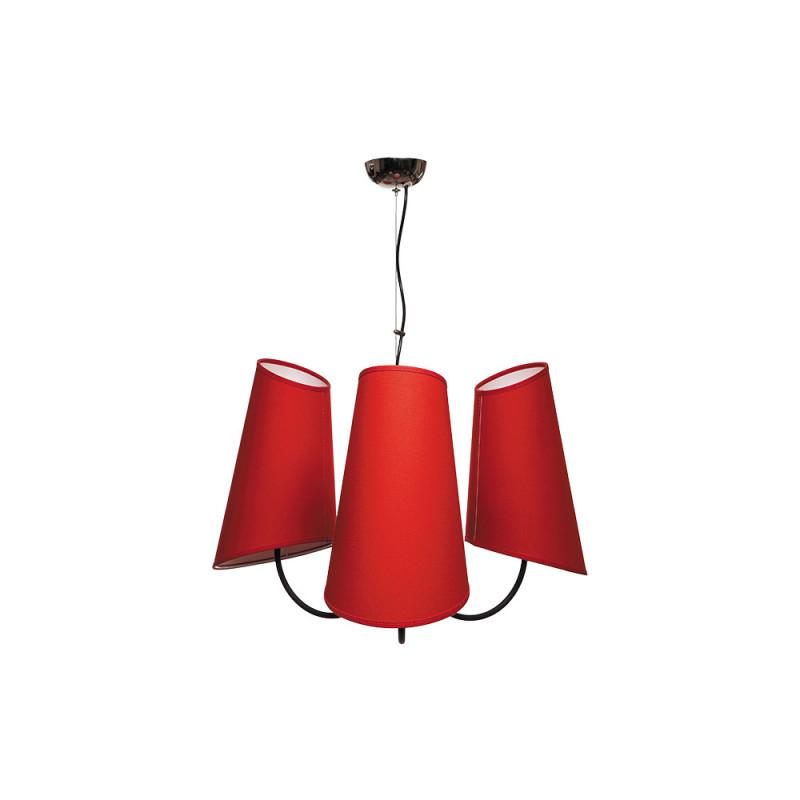 Benetti Люстра BENETTI Modern Bizzarro черный/красный, 3хE27, коллекция MOD-406 benetti сапоги резиновые benetti mh 003