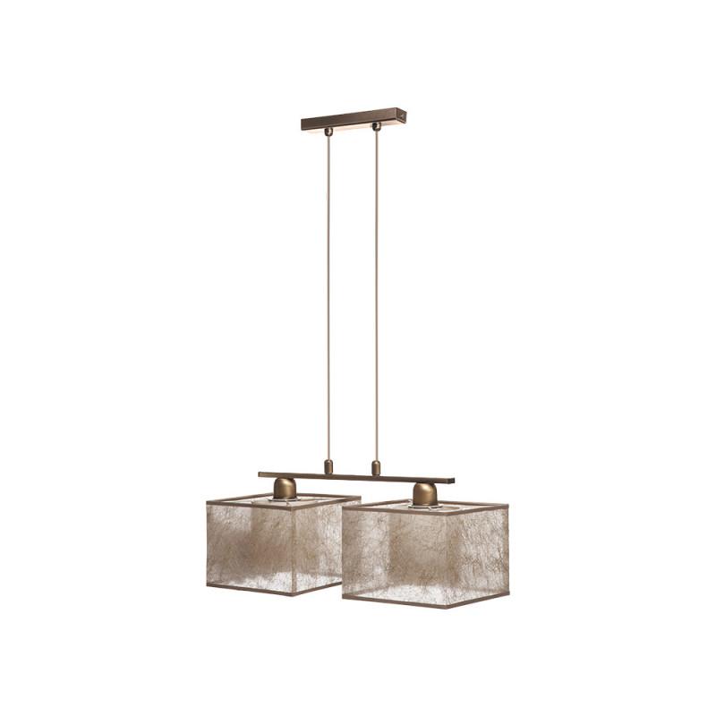 Benetti Люстра BENETTI Modern Nebbia бронза/золотистый, 2xE27, коллекция MOD-407 подвесной светильник benetti mod 023 9600 01 p