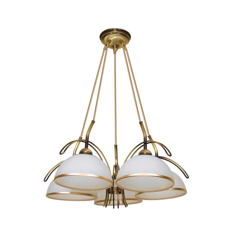 Benetti Люстра BENETTI Modern Ponte золотистый никель, 5xE27,  коллекция MOD-416 подвесной светильник benetti mod 023 9600 01 p