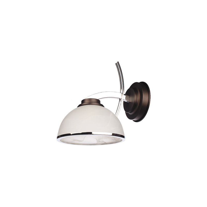 Benetti Бра BENETTI Modern Ponte венге хром, 1xE27, коллекция MOD-420 светильник benetti modern ponte золотистый никель 1xe27 коллекция mod 417