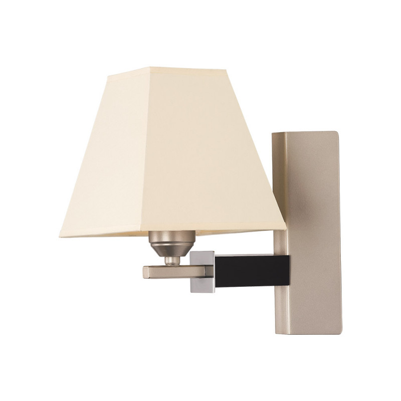Benetti Бра BENETTI Modern Piramidi никель/бежевый, 1xE27,  коллекция MOD-421 подвесной светильник benetti mod 023 9600 01 p