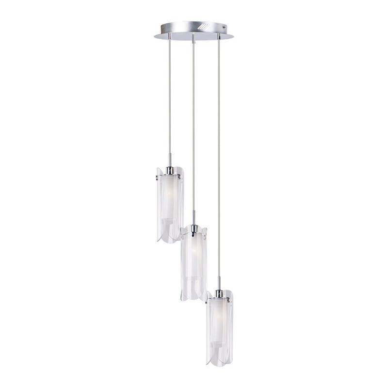 Benetti Cветильник BENETTI Modern Foglia подвесной хром, 3хE14, коллекция MOD-036 подвесной светильник benetti mod 023 9600 01 p