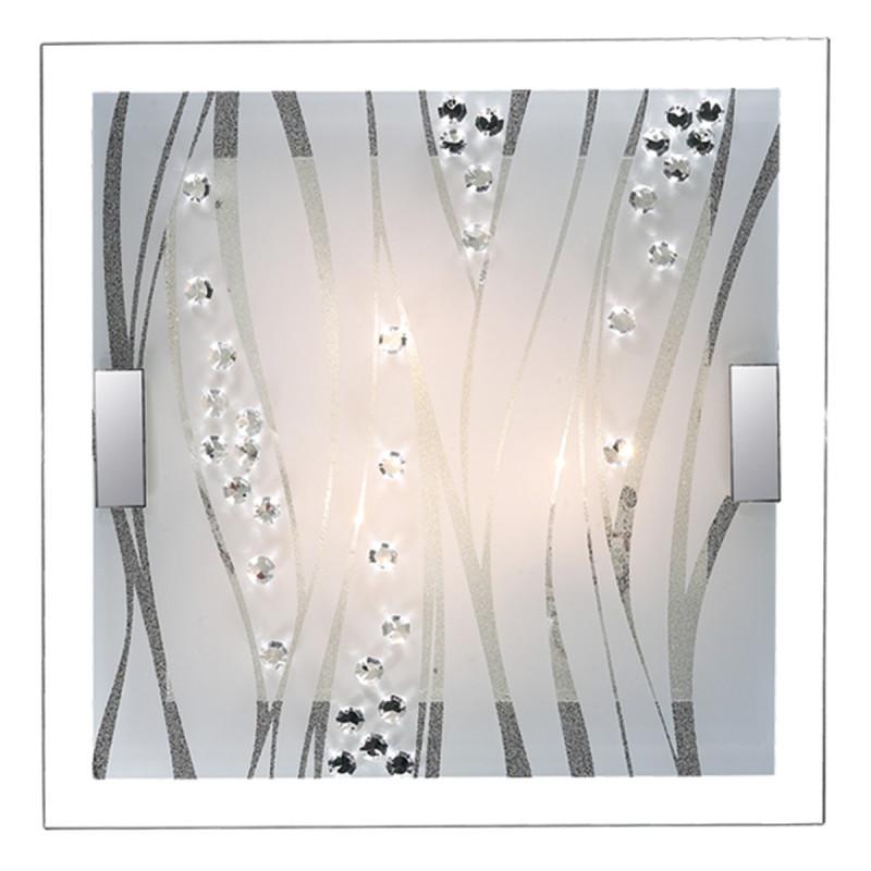 Sonex 1227/CL FBR18 000 белый/хрусталь Н/п светильник LED 28W 220V KADIA oem new 110v 220v fuser assembly for h p 9000 9040 9050 rg5 5750 000 rg5 5751 000 c8519 69014l