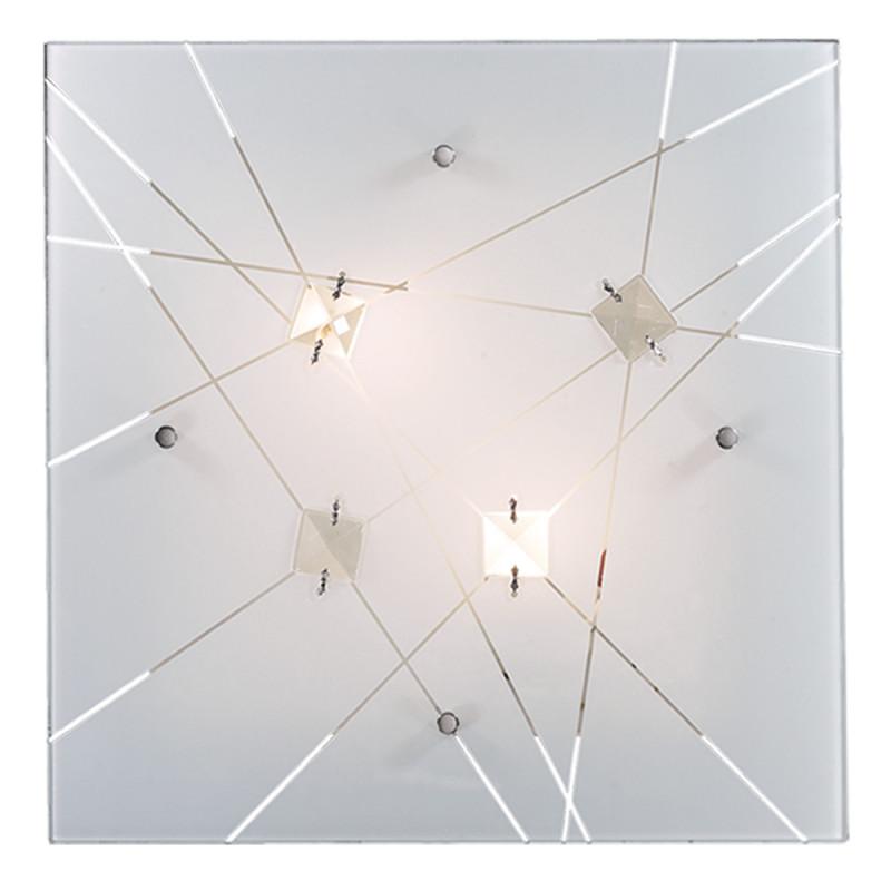 Фото Sonex 1235/BL FBR18 000 белый/хрусталь Н/п светильник LED 24W 220V OPELI. Купить с доставкой