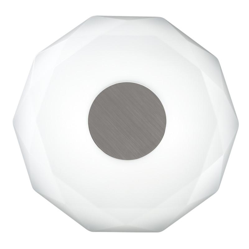 Sonex 2013/D SN18 000 пластик/белый/никель Н/п светильник LED 48W 220V PIOLA адреса петербурга 48 62 2013 ленфильм