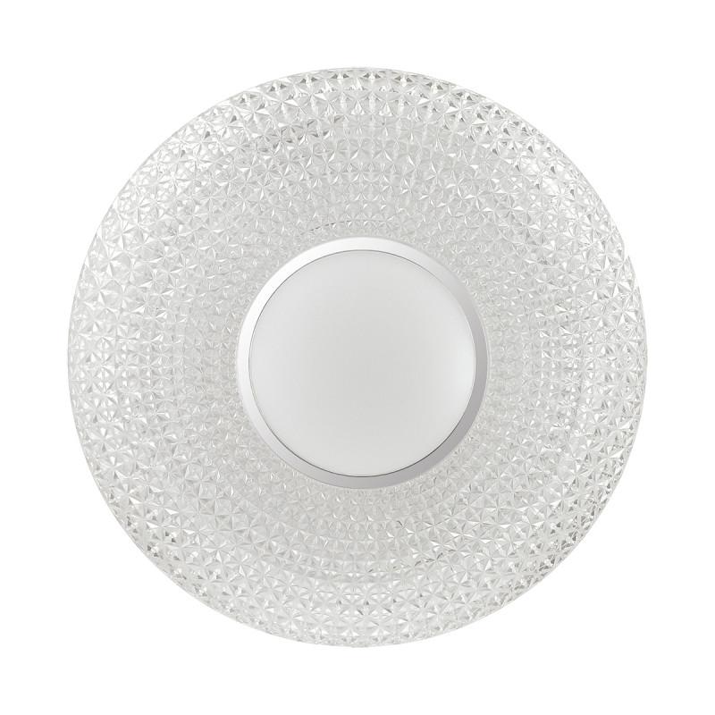 Sonex 2048/DL SN18 000 пластик/белый/декор прозрачн/пульт ДУ Н/п светильник LED 48W 220V VISMA sonex 256 sn15 000 provenc gold white