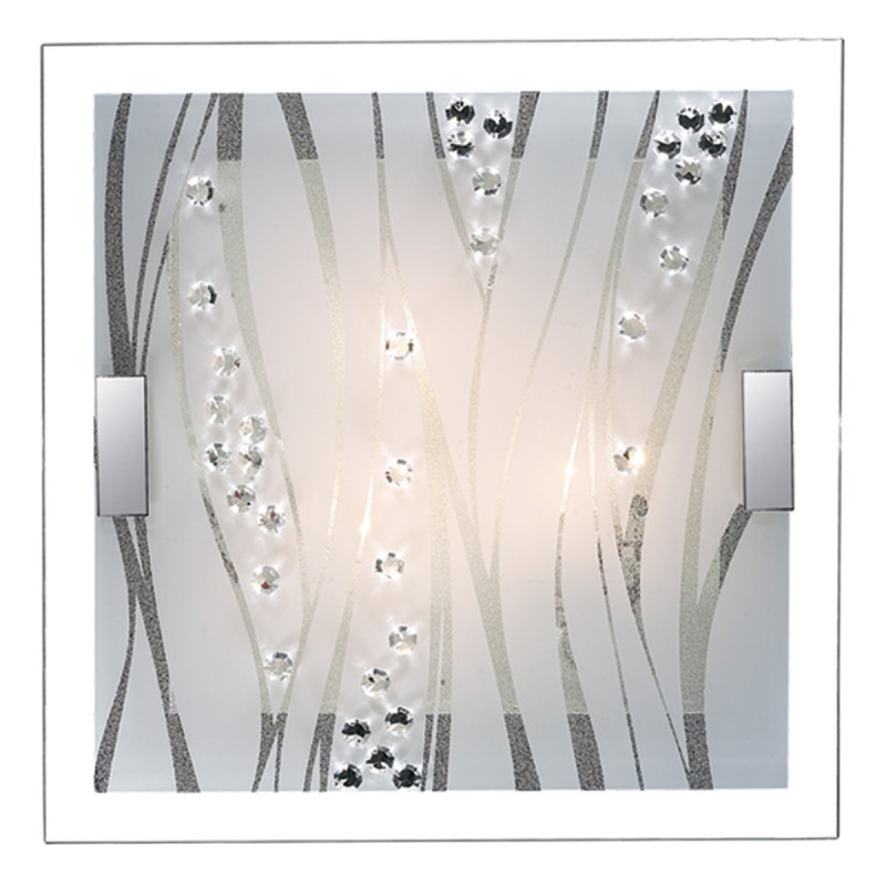 Sonex 2227/DL FBR18 000 белый/хрусталь Н/п светильник LED 48W 220V KADIA sonex 256 sn15 000 provenc gold white