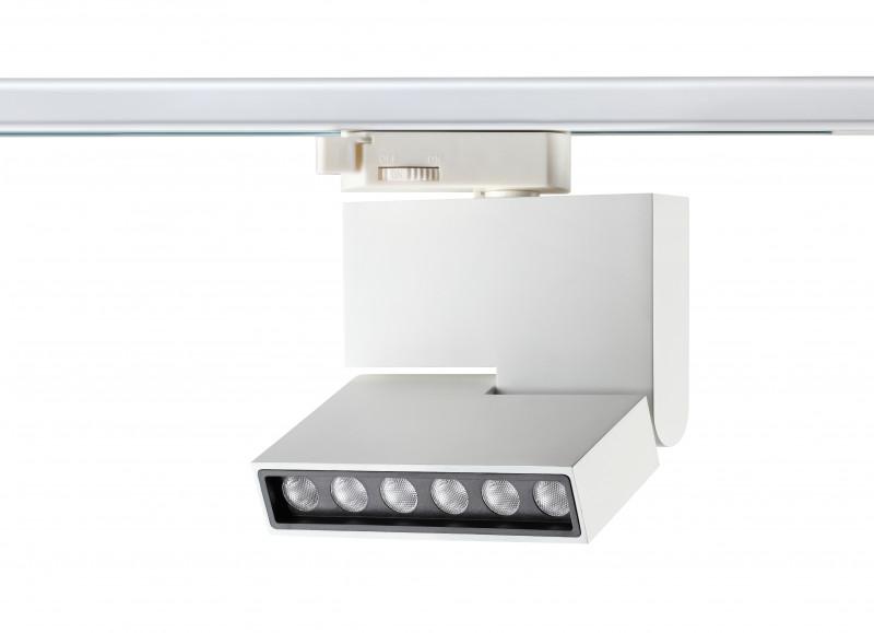 Novotech 357539 NT18 000 белый Трековый светильник LED 6*1W 110-240V EOS миникарта орел 1 12 000 1 18 000