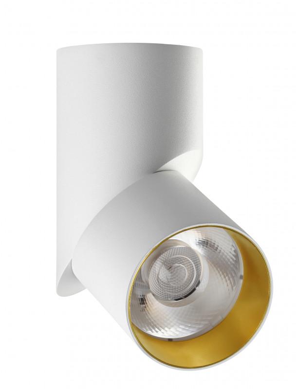 Фото Novotech 357540 NT18 000 белый/золото Накладной светильник  23W 110-240V UNION. Купить с доставкой
