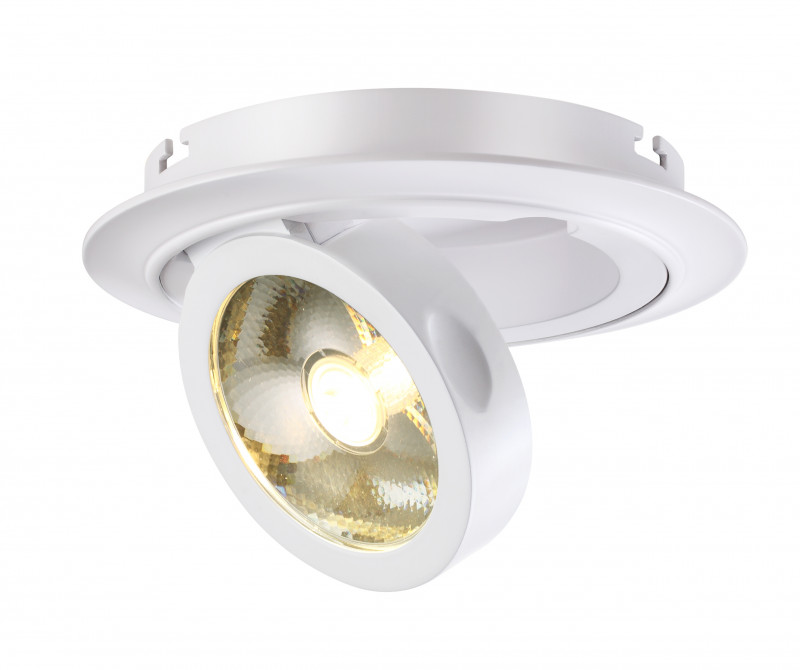 Novotech 357705 NT18 000 белый Встраиваемый светильник IP33  COB 10W 220-240V RAZZO джон дэвисон рокфеллер как я нажил 500 000 000 мемуары миллиардера