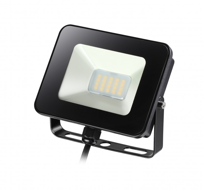 Novotech 357531 NT18 000 черный Прожектор светодиодный с датчиком движения 20LED 10W 220-240V ARMIN