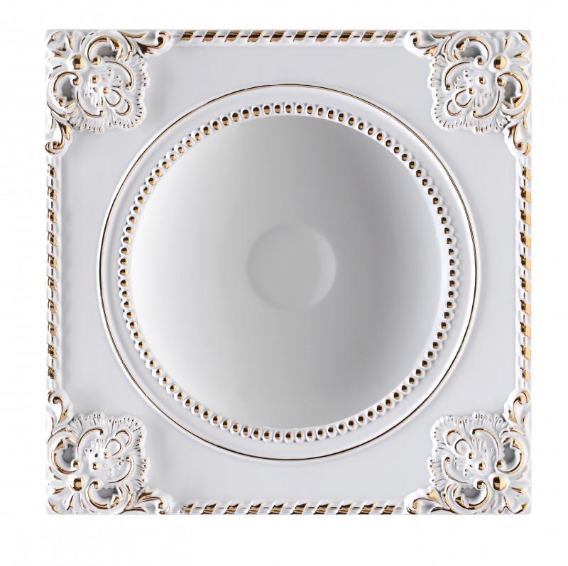 Фото Novotech 357616 NT18 000 белый/золото Встраиваемый светодиодный светильник 18W 85-265V NOVEL. Купить с доставкой