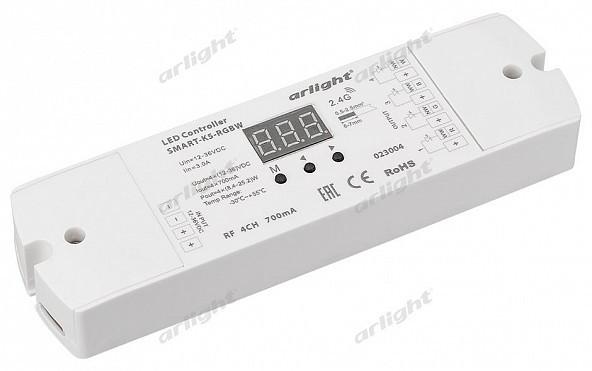 Arlight Контроллер тока SMART-K5-RGBW (12-36V, 4x700mA) каркас для ванны cersanit smart сборочный пакет k rw smart 170