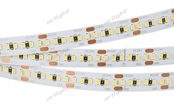 Фото Arlight Лента MICROLED-5000 24V Day4000 8mm (2216, 300 LED~m, LUX). Купить с доставкой