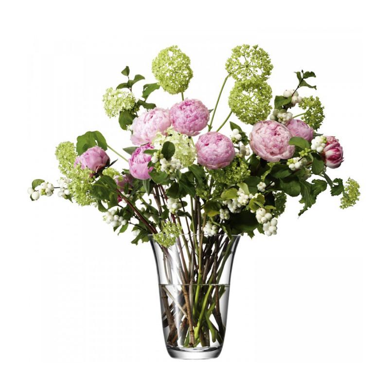 LSA Ваза для открытого букета flower 23 см