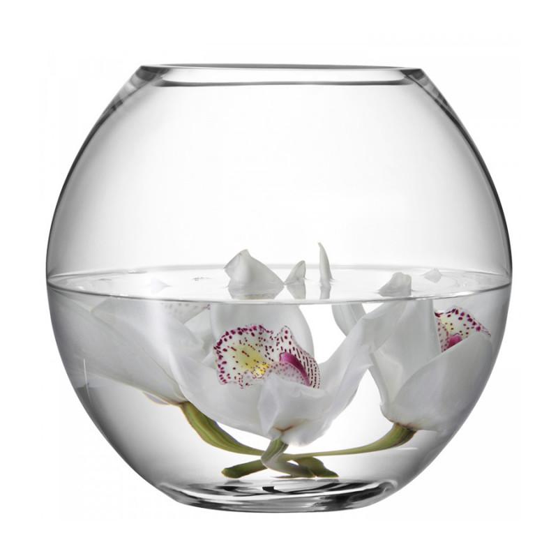 LSA Ваза круглая flower 22см ваза для фруктов н н 22см джесси