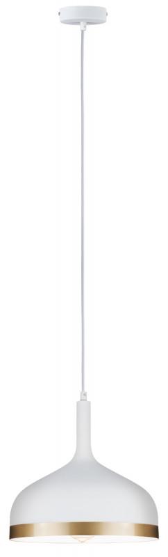 Paulmann Embla Pendell max1x20W Ws/Gd Metall paulmann fenno tischl max1x20w grau 230v beton