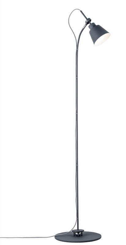 Paulmann Thala Stehl.max.40W E14 Grau 230V Metall paulmann fenno tischl max1x20w grau 230v beton
