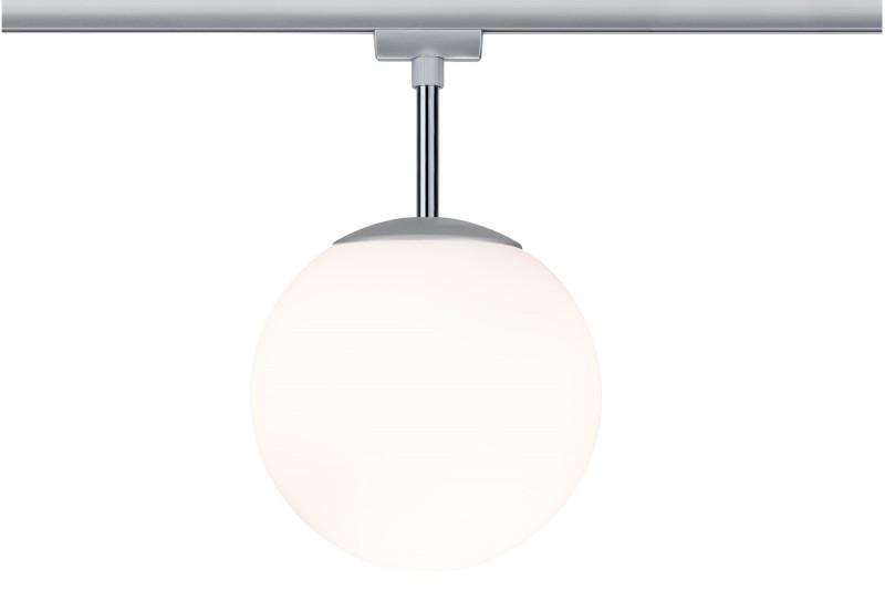Paulmann URail Ceiling Globe 200 max1x10W E14 Chr трековый светильник paulmann urail globe 97603