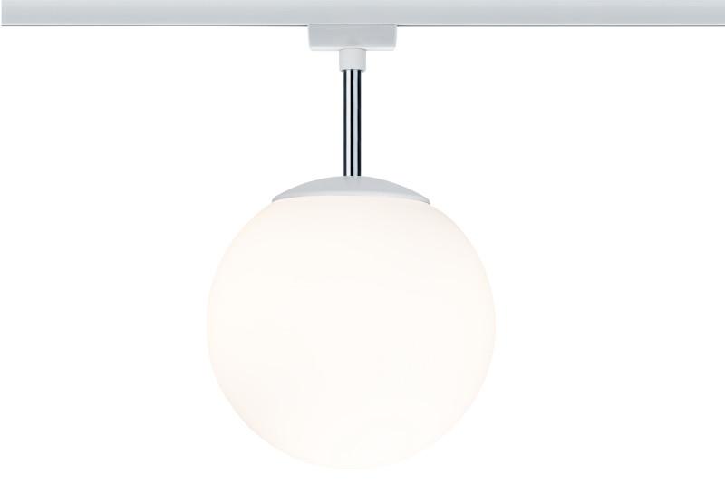 Paulmann URail Ceiling Globe 200 max1x10W E14 Ws paulmann urail ceiling globe 300 max1x20w e27 ws