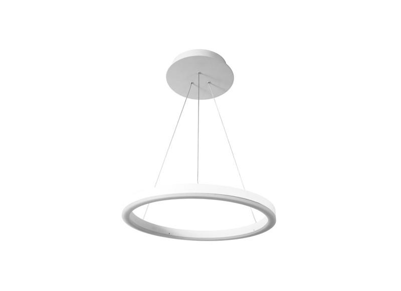 Фото Donolux Donolux Светодиодный светильник, подвесной. АС100-240В  16W, 3000K, 790 LM. Белый, H1500, D300мм,+ис. Купить с доставкой