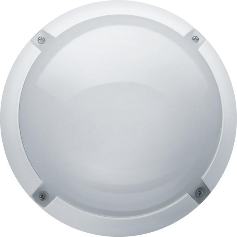 Navigator Светильник Navigator 94 839 NBL-PR1-12-4K-WH-IP65-LED (R) (аналог НПБ 1101) влагозащищенный светильник navigator 94 827 nbl r1 8 4k wh ip65 led нпп 1301 белый круг 4607136948273 240914