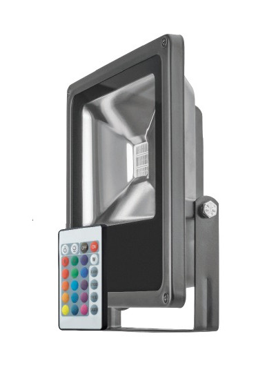 ОНЛАЙТ Светильник ОНЛАЙТ 61 147 OFL-20-RGB-BL-IP65-LED цена
