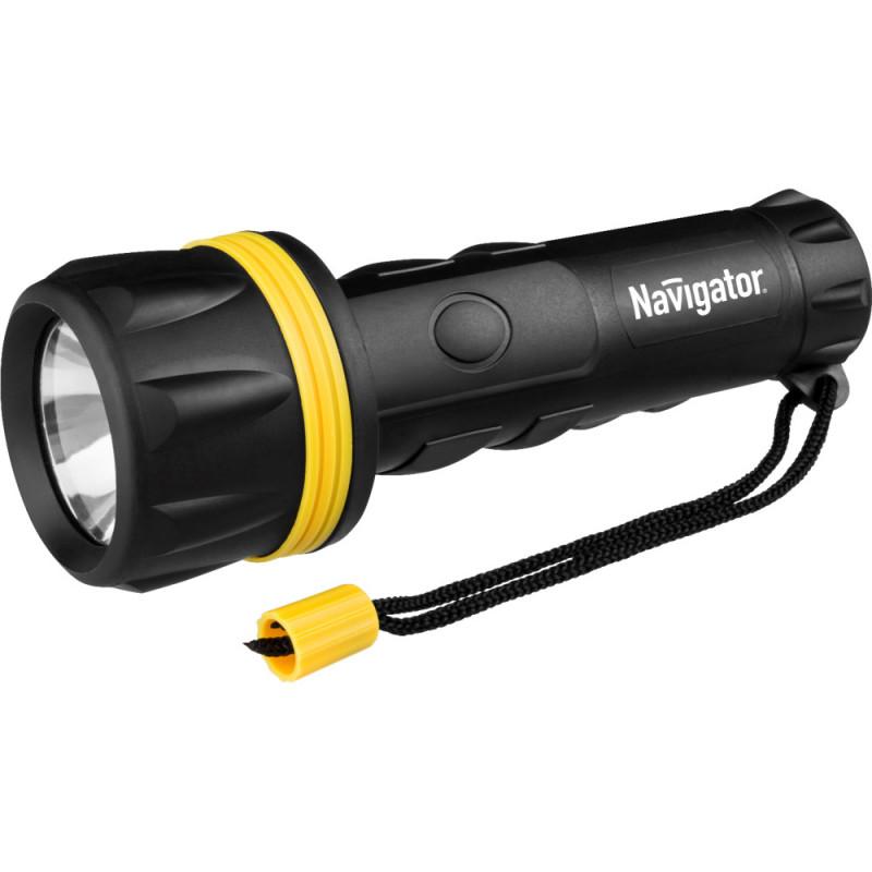 Navigator Фонарь Navigator 71 588 NPT-R07-2D Пластик + резина. 1LED 1Вт фонарь кемпинговый navigator 94 948 npt ca06 3aa светодиодный
