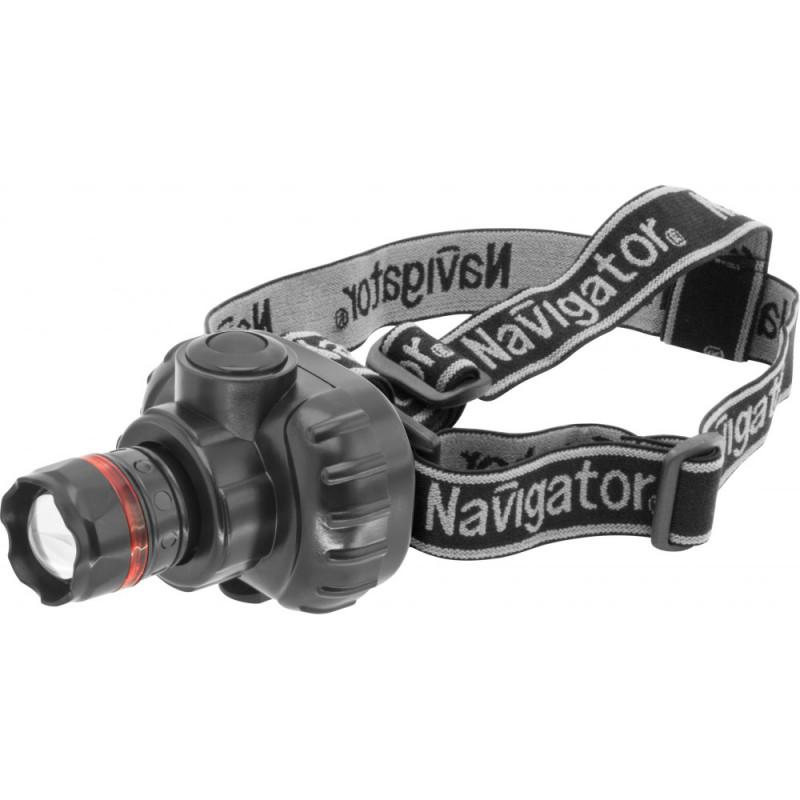Navigator Фонарь Navigator 94 950 NPT-H03-3AAA налобн. 3 реж.,фокус, 1LEDx1Вт, блист. navigator 94 786 nbt ne lr6 bp24