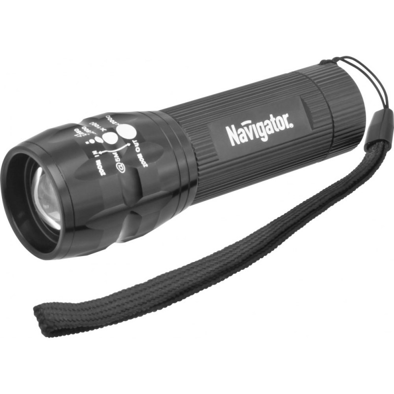 Navigator Фонарь Navigator 94 967 NPT-CM03-3AAA алюм. 1LEDх3Вт, фокус, блист. фонарь кемпинговый navigator 94 948 npt ca06 3aa светодиодный