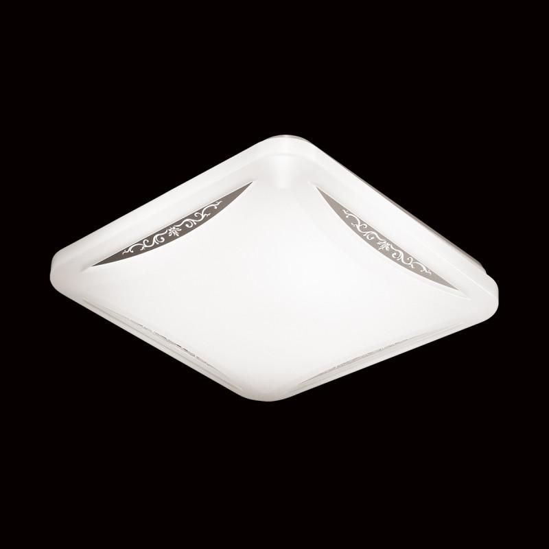 Sonex 2055/СL SN18 000 пластик/белый/декор Н/п светильник LED 28W 220V KRONA janome 2055 белый зеленый