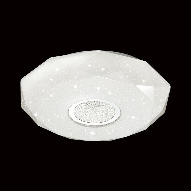 Sonex 2057/СL SN18 000 пластик/белый/декор Н/п светильник LED 24W 220V PRISA sonex 256 sn15 000 provenc gold white