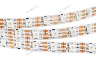 Arlight Лента 5 метров SPI 2-5000-AM 5V RGB (5060, 300 LED x1, 2812) лента arlight 015974