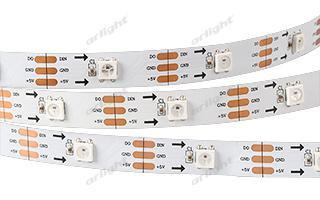 Arlight Лента 5 метров SPI 2-5000-AM 5V RGB (5060, 150 LED x1, 2812) лента arlight 015007