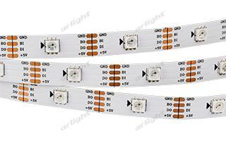 Arlight Лента 5 метров SPI 2-5000SE 5V RGB (5060, 150 LED x1, 2813) лента arlight 014388