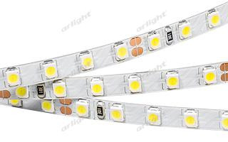 Arlight Лента RT 2-5000 24V Warm3000 5mm 2x (3528, 600 LED, LUX) лента arlight 019083