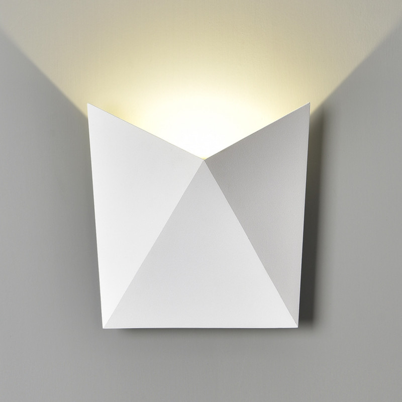 Elektrostandard 1517 TECHNO LED BATTERFLY белый elektrostandard лампа светодиодная elektrostandard свеча на ветру сdw led d 6w 3300k e14 4690389085505