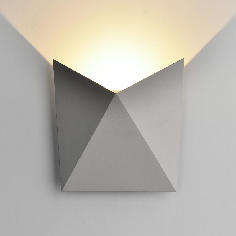 Elektrostandard 1517 TECHNO LED BATTERFLY серый elektrostandard лампа светодиодная elektrostandard свеча на ветру сdw led d 6w 3300k e14 4690389085505