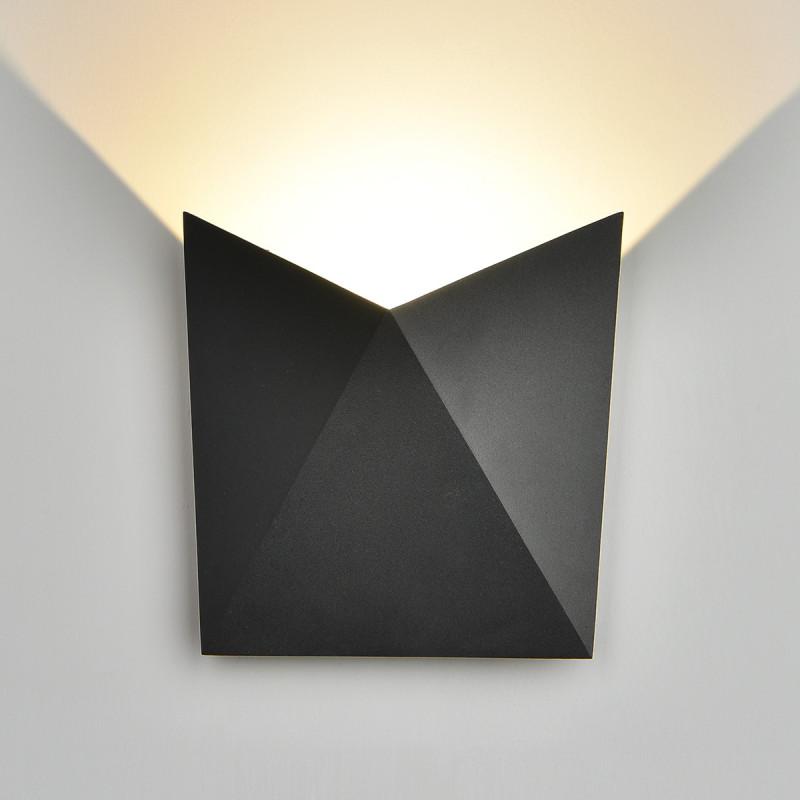 Elektrostandard 1517 TECHNO LED BATTERFLY черный elektrostandard лампа светодиодная elektrostandard свеча на ветру сdw led d 6w 3300k e14 4690389085505