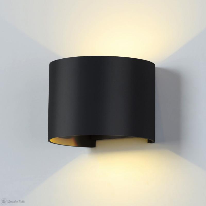 Elektrostandard 1518 TECHNO LED BLADE черный elektrostandard 1518 techno led blade белый