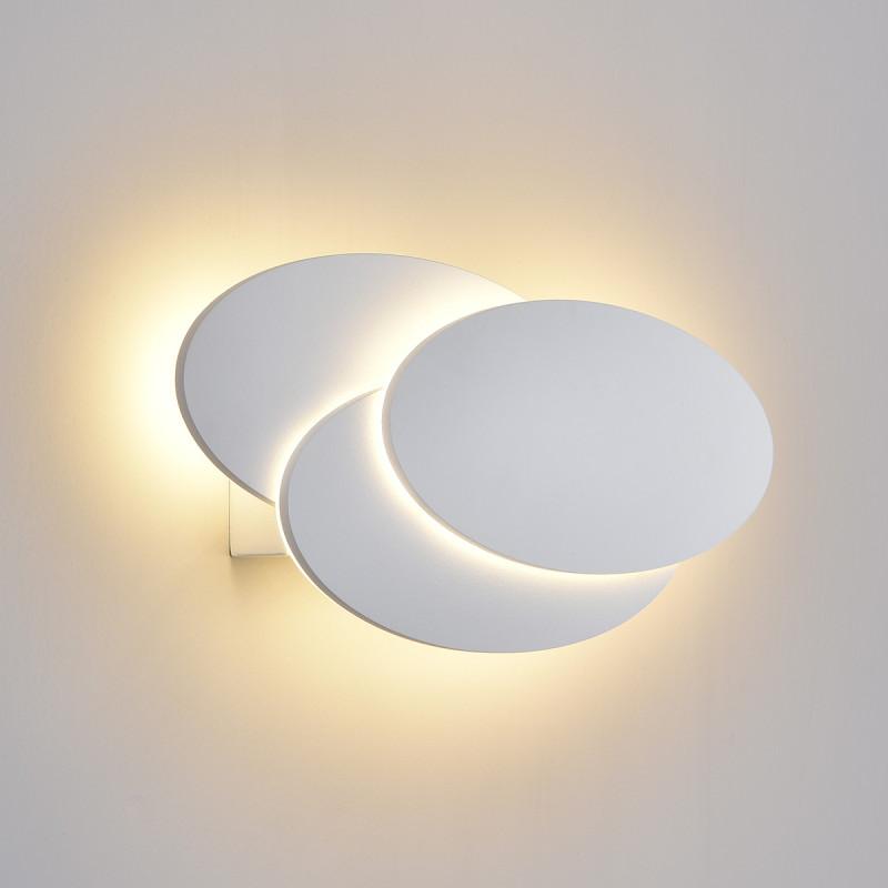 Elektrostandard Elips LED белый матовый (MRL LED 12W 1014 IP20) elektrostandard лампа светодиодная elektrostandard свеча на ветру сdw led d 6w 3300k e14 4690389085505