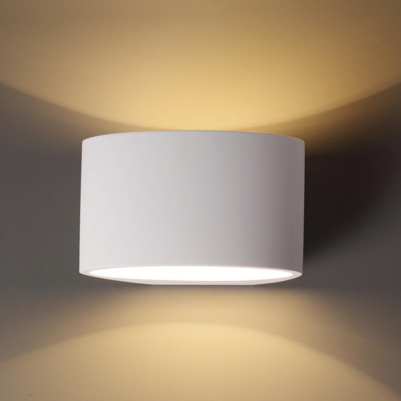 Odeon Light 3550/1W ODL18 000 белый гипсовый Настенный светильник IP20 G9 40W 220V GIPS миникарта орел 1 12 000 1 18 000