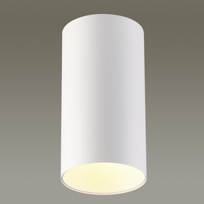 Odeon Light 3557/1C ODL18 125 белый Потолочный накладной светильник IP20 GU10 50W 220V PRODY odeon light потолочный светильник odeon light prody 3557 1c