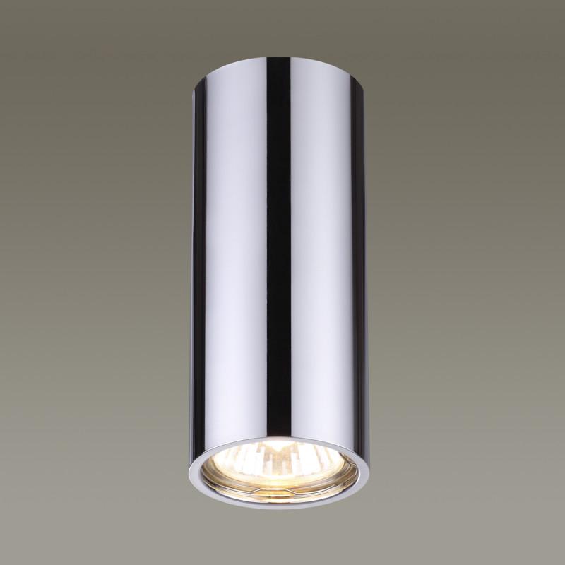 Odeon Light 3578/1C ODL18 126 хром Потолочный накладной светильник IP20 G10 50W 220V MELARDA